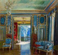 Stanislav Yulianovich Zhukovsky - Interior of the Lazienki Palace