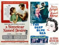 Vivien Leigh ~ A Streetcar Named Desire ~ 1951 and The Deep Blue Sea ~ 1955