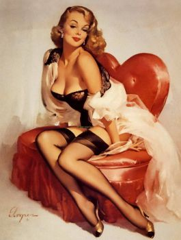 Vintage - pinup - In the mood
