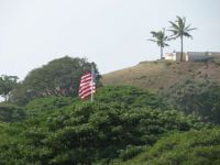 Flag at Punchbowl