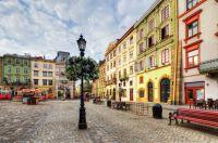 Houses in Lviv, Ukraine