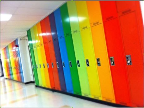 Colourful Lockers