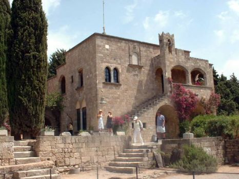 The monastery of Panagia Filerimos in Rhodes, Greece