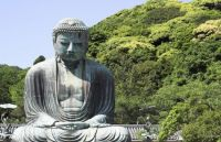 Landmark: The great Buddha - Kamakura, Japan