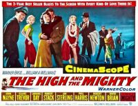 THE HIGH AND THE MIGHTY - 1954   JOHN WAYNE, CLAIRE TREVOR, ROBERT STACK, JAN STERLING