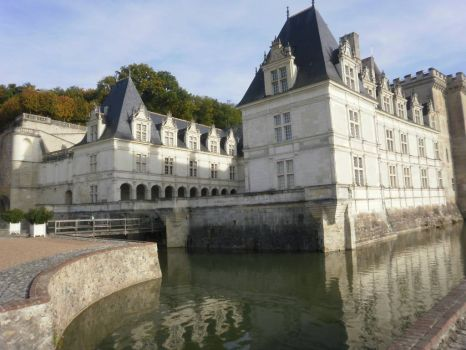 Chateau de Villandry - the moat