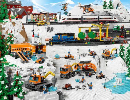 Lego panorama
