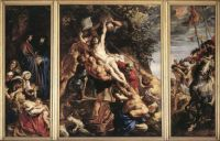 Rubens - The Elevation of the Cross (1610)