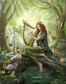 in the fairy wood__