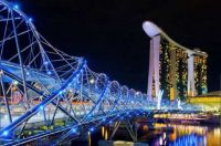 Bridges 4-Helix Bridge, Marina Bay, Singapore
