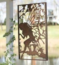 Fairy cutout to hang