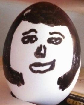 Easter Elvis EggHead