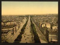 Paris 1900 - Champs Élysées