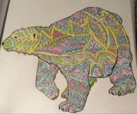 Polar Bear - Coloring Book