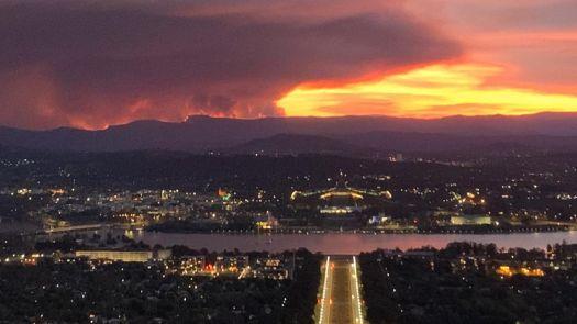 Canberra Bush Fires1