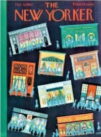 The New Yorker - December 15, 1962 / cover art by Charles E Martin