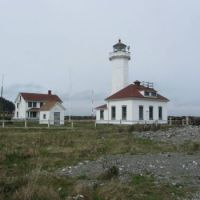 Lighthouse at Port Townsend, Washington