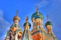 beautiful domes Basilika Russia