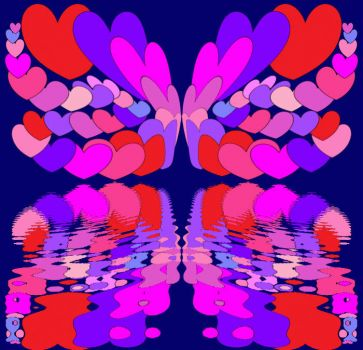 Roundabout Hearts Reflectorfly