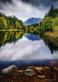 Loch Lochan, Glencoe, Scotland, UK