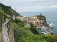 On the path to Vernazza
