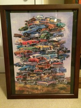 Old Cars Puzzle