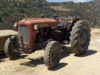 old tractor, Crete