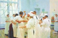 repin pavlov in the operating theatre