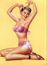 classic pinup girl 1