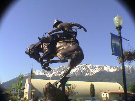 Joseph, Oregon bronze