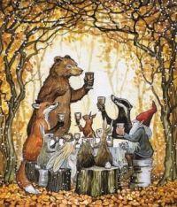 """""""Woodland Feast"""""""