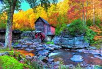 Gristmill in Autumn