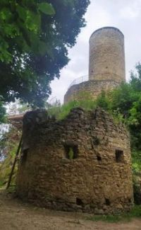Zřícenina hradu Cimburk, okr. Kroměříž