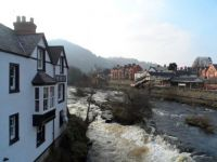 The River Dee, Llangollen