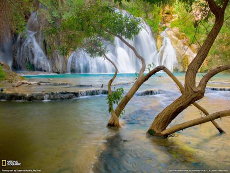 Lake Havasu Creek Waterfall