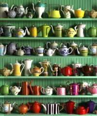 Lots of teapots!