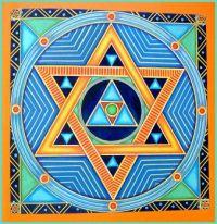 Mosaics / Kaleidoscope / Mandala - Meditating with Mandalas - Hexagram