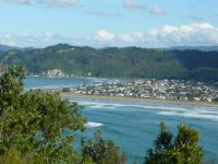 Whangamata beach, Coromandel, New Zealand