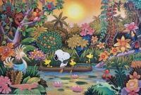 Snoopy Seeks Treasure in Tropical Paradise