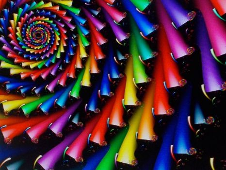 colorful spiral!!!
