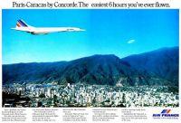 Paris-Caracas by Concorde