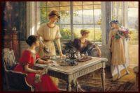 Women Taking Tea