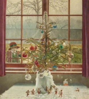 The Christmas Tree by Harry Bush