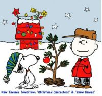 """New Theme Tomorrow:  """"Christmas Characters/Stories & Snow Games""""  ENJOY  Be safe, healthy & happy.  Hugs."""