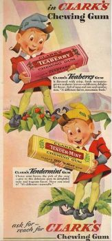 Themes Vintage ads - Clark`s Chewing Gum