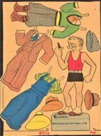 Casper from the 4-5-1946 ''Toots & Casper Comic Strip''