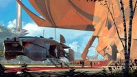 Syd Mead competition - work by Danny Gardner