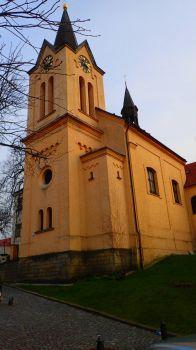 Kostel sv. Ludmily v Chvalské tvrzi