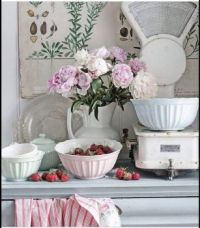 Strawberries and Peonies