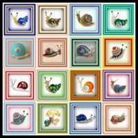 16 Snail Brooches for you to enjoy!